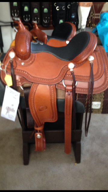 Billy Cook 1777 Trail Saddle